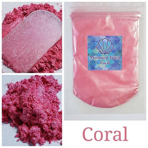 Coral Mica Pigment