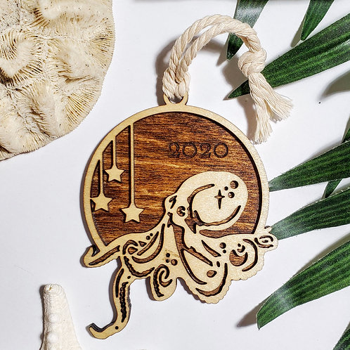 Birchwood Octopus 2020 Ornament