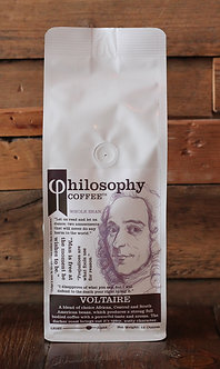 Voltaire- Cupping Notes: dark cherry, cocoa, hazelnut, soft spice
