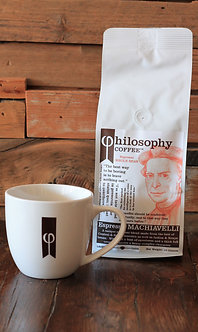 Ceramic Cup + Philosophy Coffee
