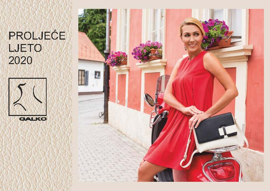 See the GALKO handbags and accessories catalogs.