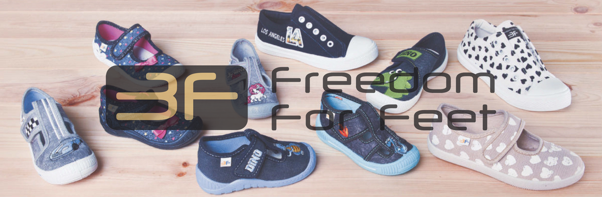 See the  3F-freedom for feet home shoe collection and bar3foots collection catalogs.