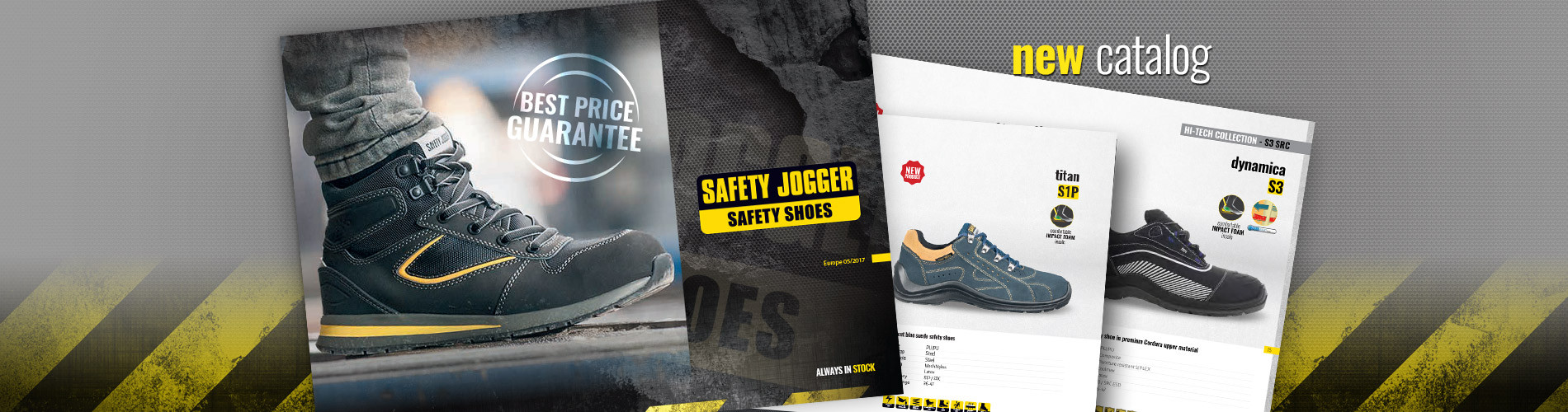 Prohlédněte si katalog pracovní obuvi SAFETY JOGGER.
