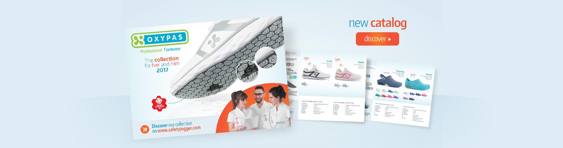 Prohlédnětě si katalog zdravotnické obuvi OXYPAS.