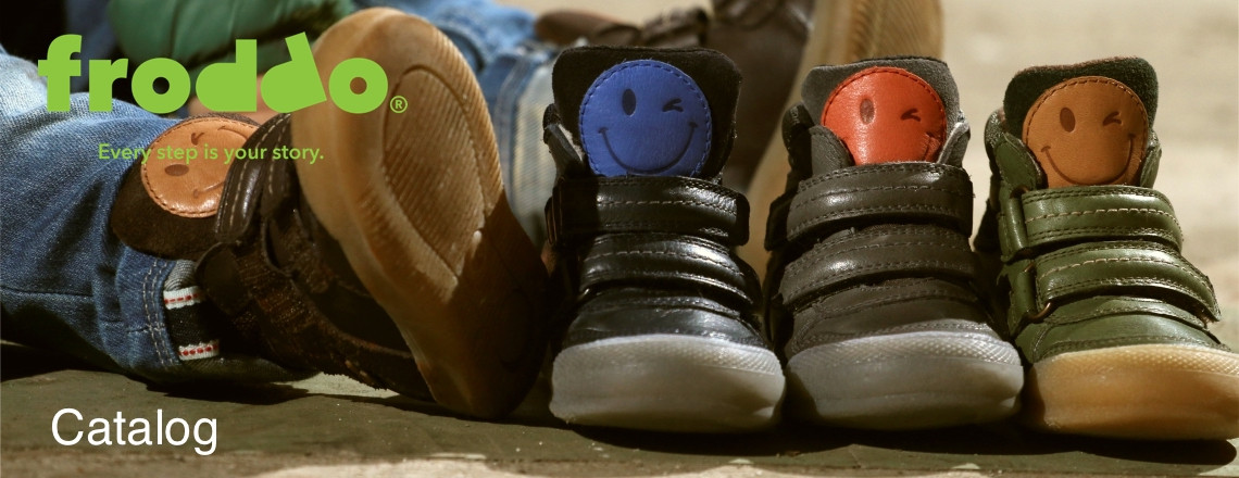 See the FRODDO children's footwear catalogs.