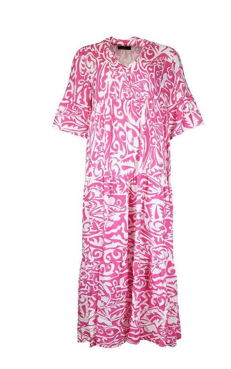 Maxikleid pink