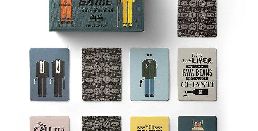 Memory Game Movie Printworks
