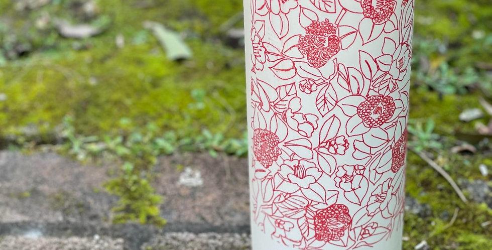 Samantha Robinson illuminator Vase TALL  RED - Flowering Gum