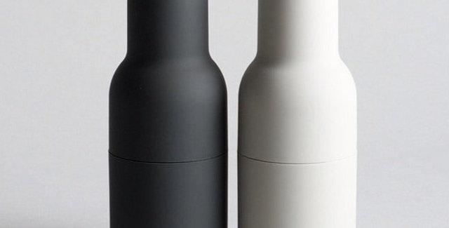 Menu Bottle Grinders (Ash/Carbon)