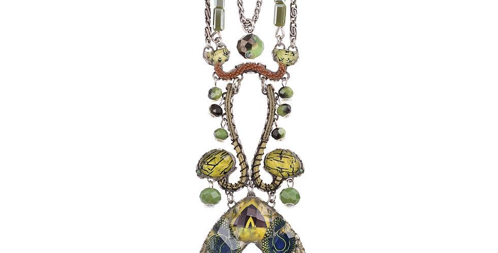 Ayala Bar Necklace  - GREEN MEADOW / RUTH