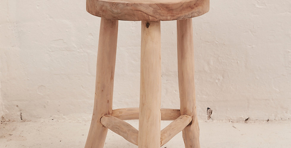 Lale Rustic Milking Stool - In store pickup only!