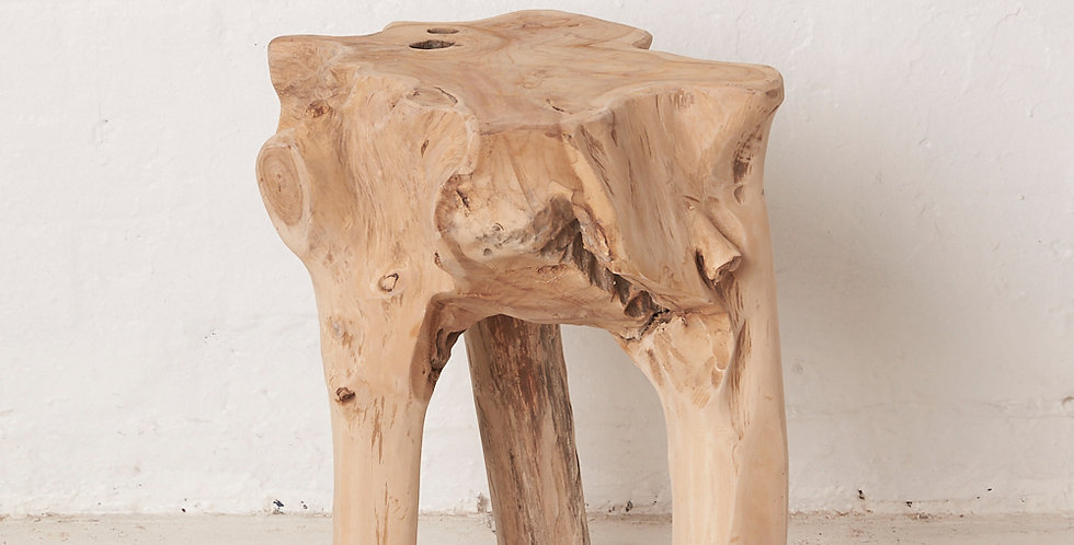 Elif Tree Root Stool - In store pickup only!