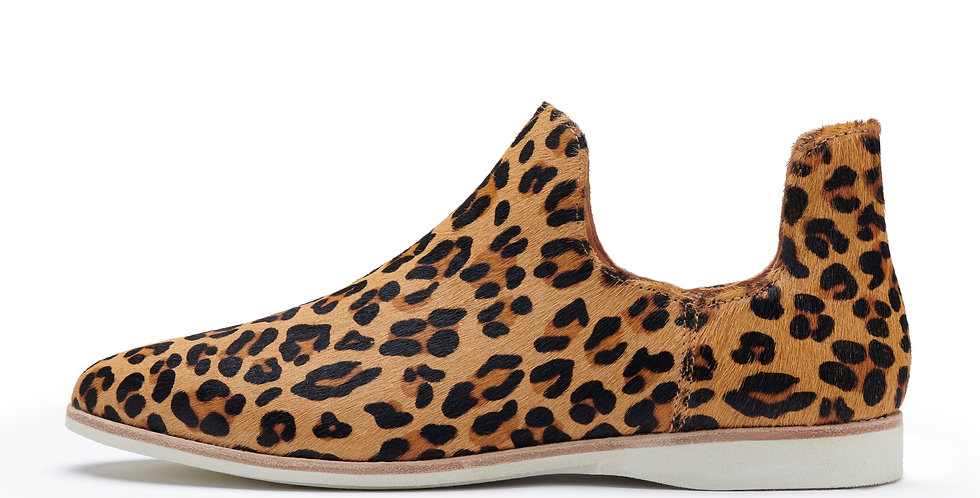 Madison Shootie Boot Cognac Leopard
