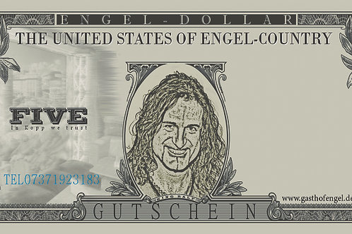 """Five"" Engel Dollar"