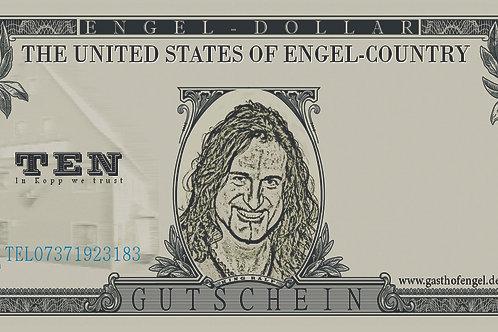 """Ten"" Engel Dollar"