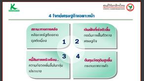 ศูนย์วิจัยกสิกรไทยคงจีดีพีปี64ที่1.8%มองบวกรัฐรุกฉีดวัคซีน ห่วงเงินเฟ้อ-หนี้ครัวเรือน-ต้นทุนพุ่งถ่วง