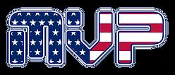 MVP American Flag Logo - zoon white outl