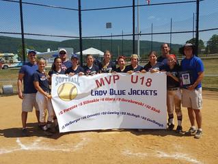 MVP Lady Blue Jackets 18u Win ASA State Championship!