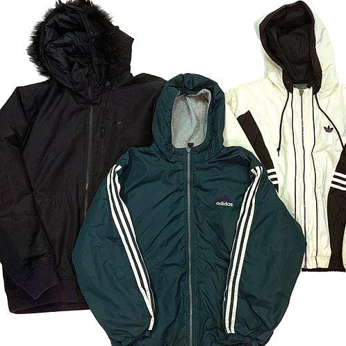 10 x Vintage Men's Nike/Adidas Winter Coats