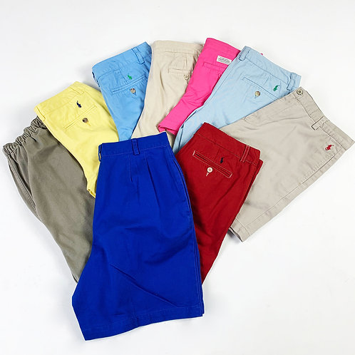 20 x Womens Vintage Ralph Lauren Chino Shorts Mix