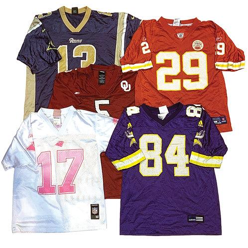 10 x Vintage Branded Women's NFL American Football Jerseys Mix