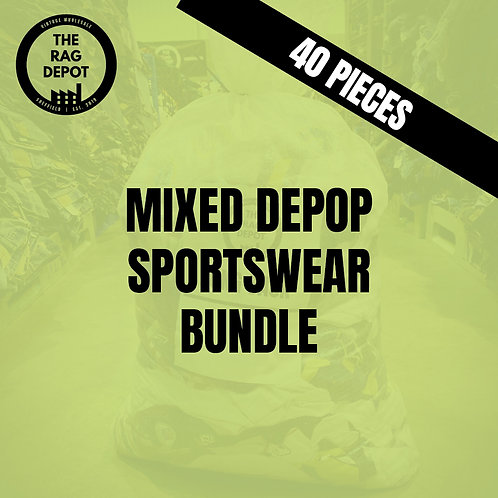 Mixed Sportswear Depop Starter Bundle (40 Individual Pieces)