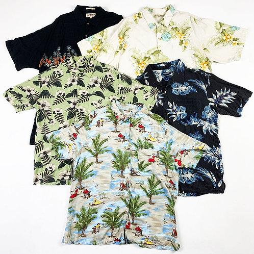 10 x Vintage Hawaiian Shirts