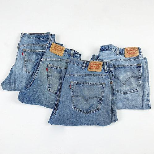 Vintage Mixed Levi's Jeans (Grade C)