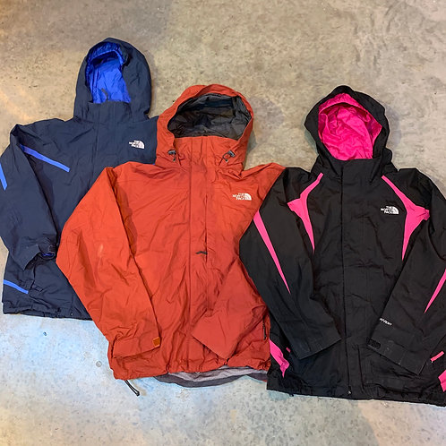 10 x Vintage The North Face Lightweight Jackets