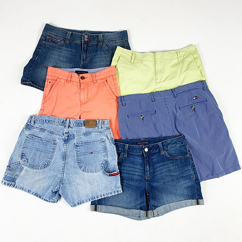 20 x Womens Vintage Tommy Hilfiger Shorts Mix