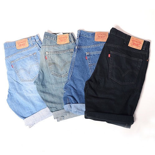 Men's Levi's Denim Shorts Relaxed Fit (Grade B)