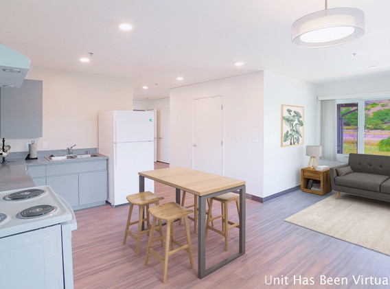 3 bedroom living space