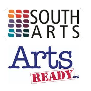 Southarts and Arts Ready logos one image