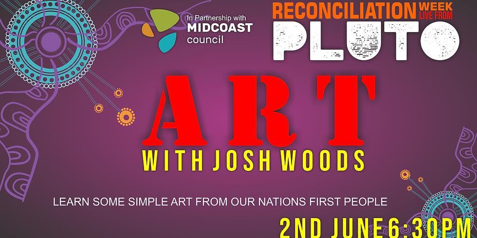 Art with Josh Woods LIVE