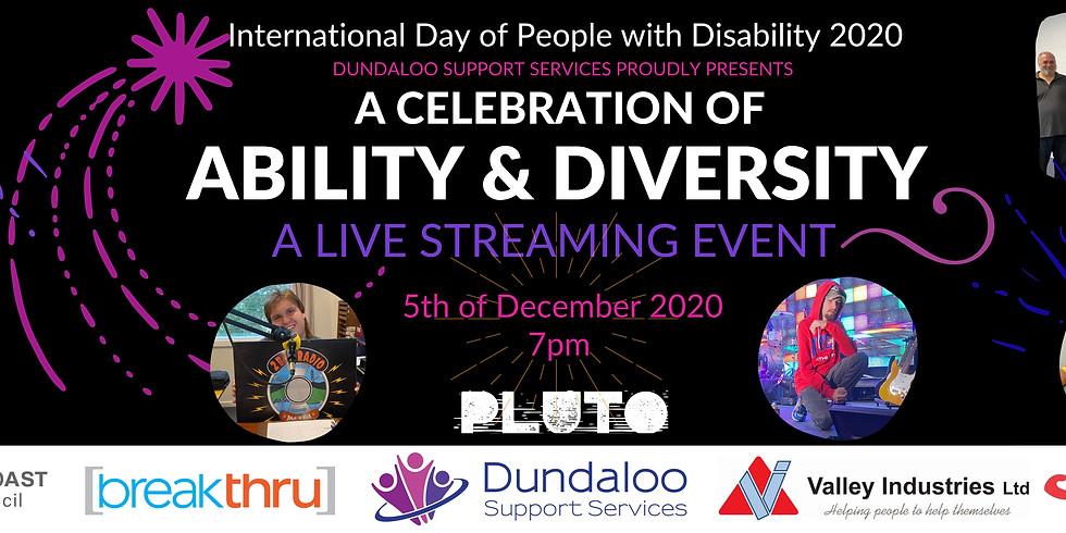 A Celebration of Ability & Diversity Livestream