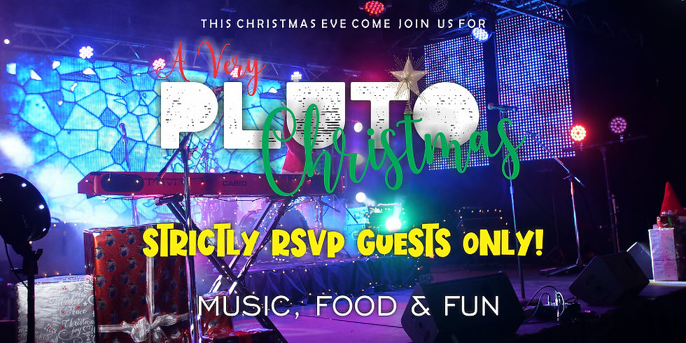 PLUTO'S CHRISTMAS EVE PARTY