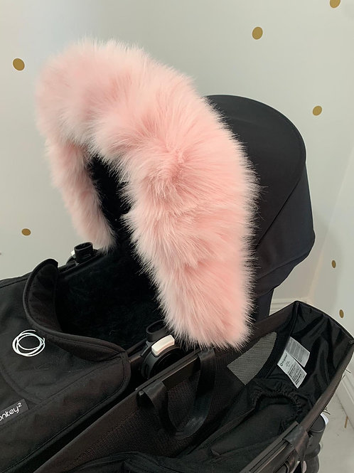 Candy Extra Fluffy Fur Pram Hood Trim