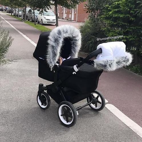Sparkle Husky Universal Pram Fur Handmuff