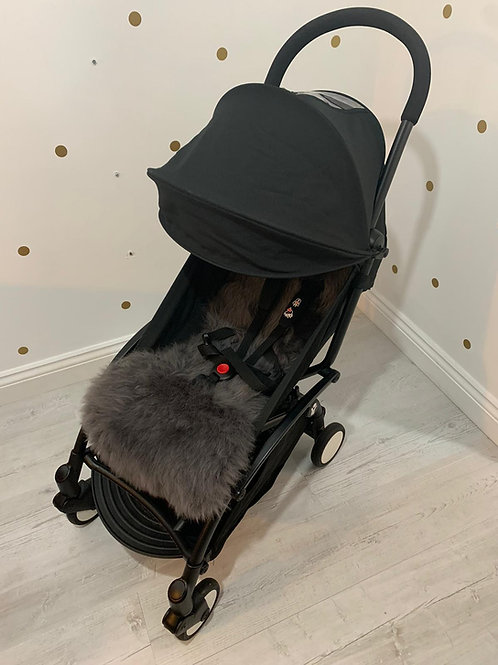 Bon Bon Sheepskin Capsule Pram Seat Liner - Long