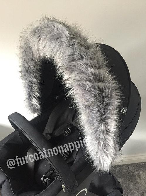 Husky Hood Fur Pram Hood Trim