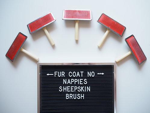 Sheepskin Brush