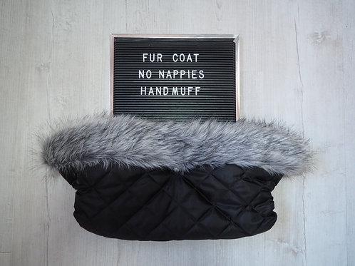 Husky Universal Pram Fur Handmuff