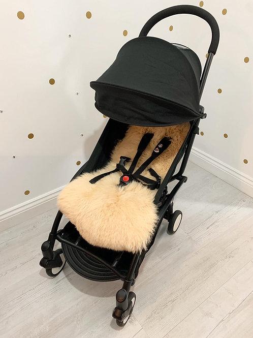 Caramel Sheepskin Capsule Pram Seat Liner - Long