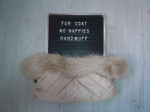 Beige on Beige Handmuff
