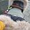 Thumbnail: Beige Universal Pram Fur Handmuff