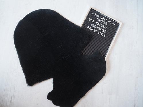 Liquorice Stokke Sheepskin Pram Seat/ Carrycot Liner, Shorn