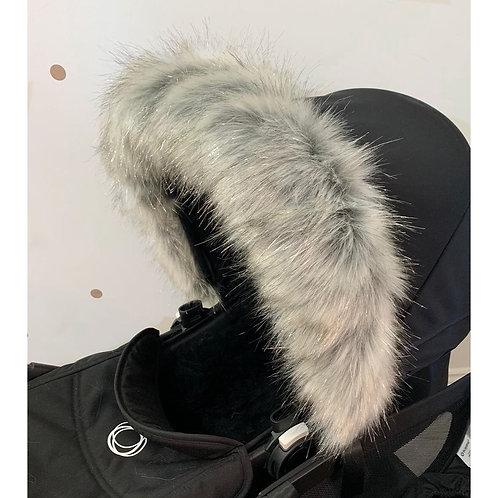 Sparkle Husky Pram Hood Fur