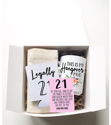 2st birthday gift box