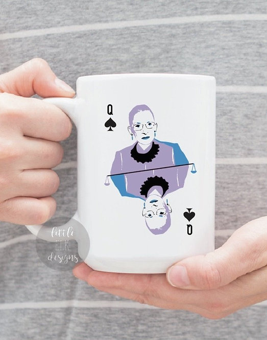 Ruth Bader Ginsburg You Can't Spell Truth Without Ruth 15 oz Coffee Mug