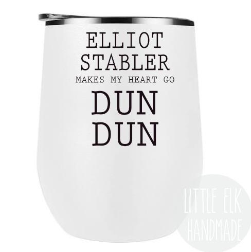 Elliot Stabler Law and Order SVU Wine Tumbler